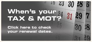 When's your Tax and MOT due?