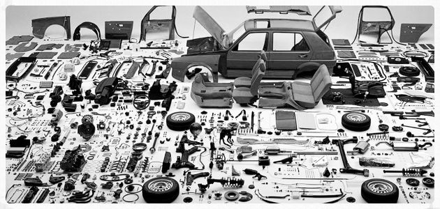 car parts for simple servicing